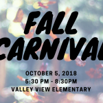 Fall Carnival Promotion